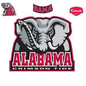 Fathead Alabama Crimson Tide Logo Wall Decal: Sports & Outdoors