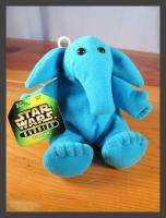 Max Rebo STAR WARS BUDDIES Beanbag 6 Stuffed Plush Toy 1997 Kenner