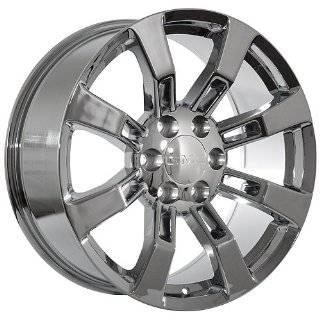 22 Inch GMC Wheels Rims Chrome (set of 4