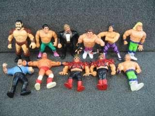 WWF Hasbro Wrestling Action Figures Loose WWE NWA WCW Vintage Rockers