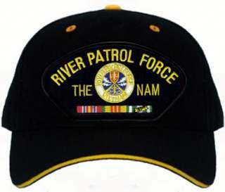 NAVY RIVER PATROL FORCE VIETNAM VET BALL CAP HAT NEW