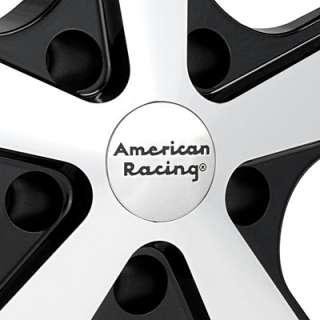 American Racing Authentic Hot Rod Nova Machined w/Black Accent