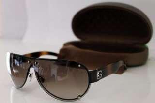 GUCCI RARE Mens Brown Executive Aviator Designer Sunglasses GG 1873/S