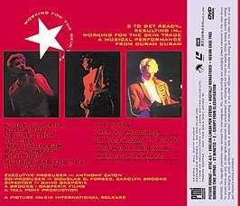 Duran Duran WORKING FOR THE SKIN TRADE Japan DVD w/OBI