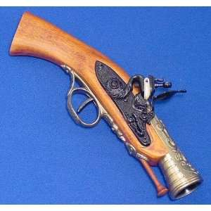 Blunderbuss Flintlock Pistol   Nice Replica Prop Gun Sports