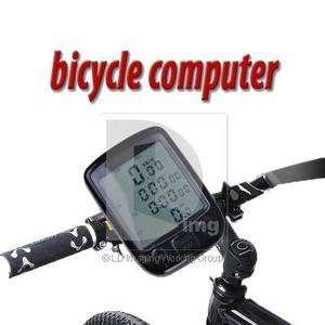 Waterproof Cycling Bicycle Bike Computer Odometer Speedometer