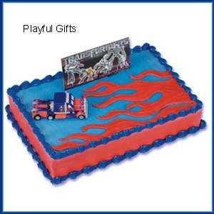 Transformer Birthday Cake Kit