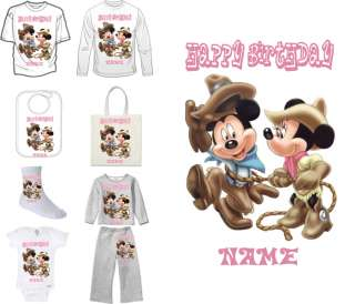 Mickey and Minnie Mouse Disney Party Favor Shirt