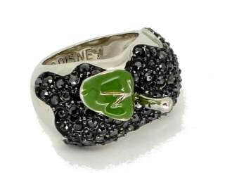Disney Couture Snow White Black Poison Apple Ring