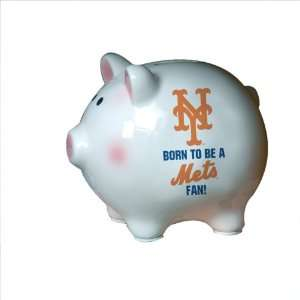 MLB New York Mets Born to be Piggy Bank  Sports & Outdoors