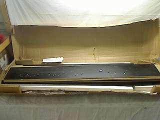 South Shore Furniture Basic Collection Full Platform Bed, Black