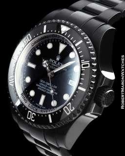 ROLEX SEA DWELLER DEEP SEA 116660 BLACK CASE 43MM