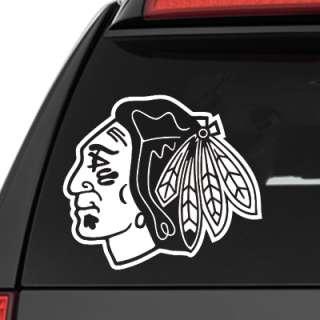 Chicago Blackhawks Logo NHL Vinyl Decal Sticker 6x5.25