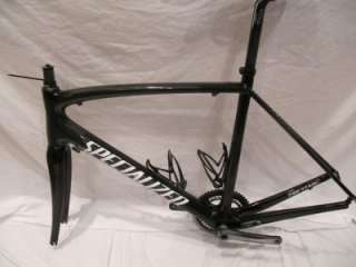 2011 Specialized Tarmac Pro Project Black Frame Fork and Headset Size