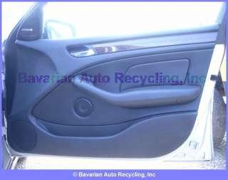 BMW 330i 4DR E46 INTERIOR Door Panel Assembly R/F