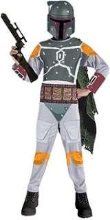 STAR WARS Boba Fett Child Costume Size Large