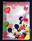 Disney Mickey Mouse Minnie Passport Holder Cover TRAVEL DOC trip kids