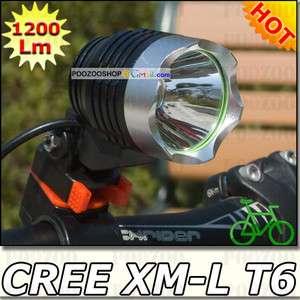 XM L T6 LED Bicycle Bike Headlamp Light Headlight Cycling Lamp
