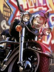 Shirt Iron On Transfer 5X7 Harley Davidson Motorcycle
