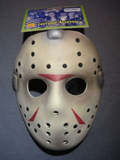 YOU ARE BUYING A BRAND NEW, JASON VOORHEES HALLOWEEN MASK.
