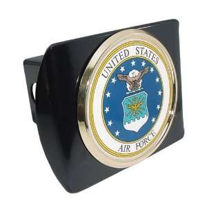 United States Air Force USAF Black with Gold Plated Seal