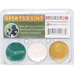 Snazaroo Jaguars Color Pack Face Makeup Paint Kit Toys