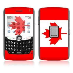 BlackBerry World 8800/8820/8830 Vinyl Decal Skin   Canadian Flag