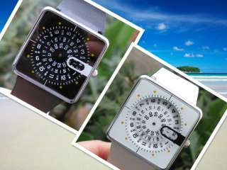 New 11 Styles Creative Fashion Steel Quartz Finger Stretch Ring Watch