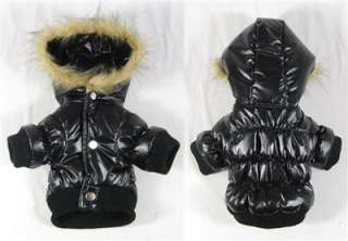 Dog Coat Wholesale Dog Clothing Dog Ski jacket hoodies 4 colors