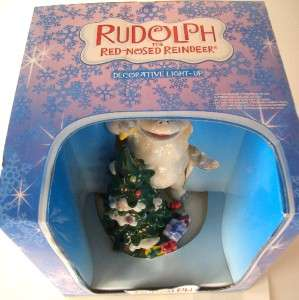 NEW Rudolph Red Nosed Reindeer BUMBLE Light Up RARE