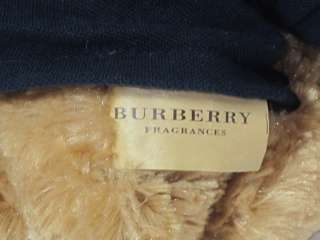 2010 BURBERRY FRAGRANCES Brown TEDDY BEAR Stuffed Plush Animal