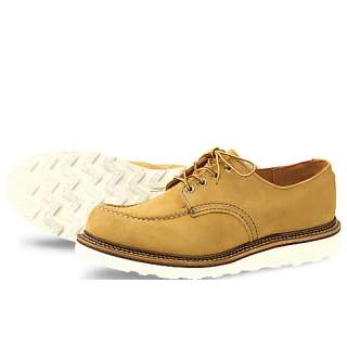 Mens RED WING HERITAGE Moc Toe Oxford Yellow 8105