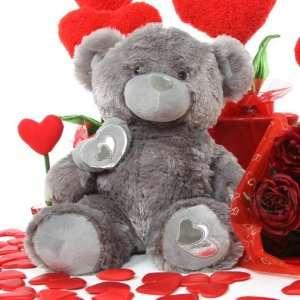 Very Soft Plush Valentine Teddy Bear   20   Snuggle Pie