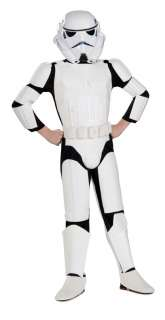 STAR WARS DELUXE STORMTROOPER   CHILD LARGE Costume NEW