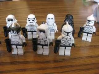LEGO Star Wars Stormtrooper Clonetrooper Mini Figure Lot RARE