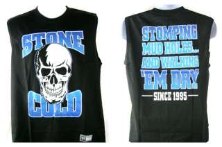 Stone Cold Steve Austin Stomping Mudholes Sleeveless Lightweight T