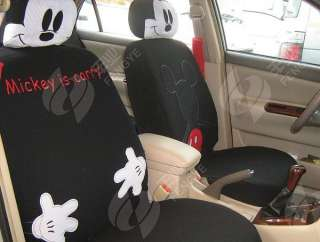 Mickey Mouse C37 Car Seat Cover Set 10 pcs