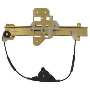 Lincoln Town Car Rear Driver Side Power Window Regulator without Motor