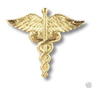 Nurse / Nursing / Medical Emblem Pin ~ Caduceus ~