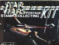 1977 STAR WARS STAMP COLLECTING KIT HARRIS & COI