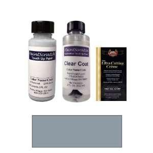 2 Oz. Medium Steel Blue Metallic Paint Bottle Kit for 2003