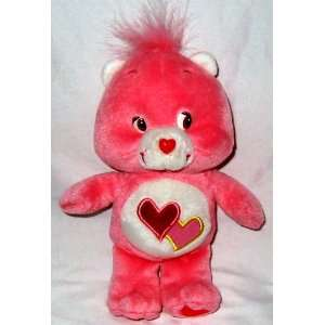 7 Care Bear Talking Love A Lot Bear Plush: Toys & Games