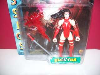 1996 TOY BIZ MARVEL X MEN CLASSICS ELEKTRA FIGURE MOC