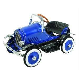 Dexton BLUE ROADSTER Kids PEDAL CAR Ride On Toy