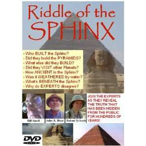 The Riddle of the Sphinx John Anthony West, Bill Knell