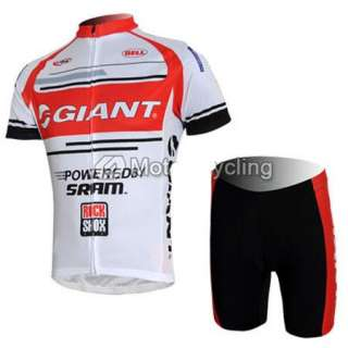 2012 Cycling Bicycle Bike Comfortable Outdoor Sport Jersey + Shorts M