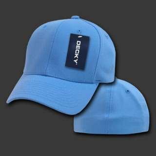 LIGHT BLUE FLEX FIT ULTRA FIT BASEBALL CAP HAT CAPS