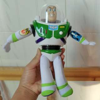 Disney Toy Story 3 Buzz Lightyear Doll Soft Toy New 8