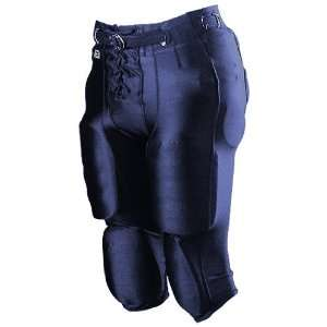 Alleson Youth Nylon/Spandex Football Pants NA   NAVY YXL (SNAPS