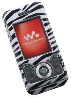 NEW ZEBRA SKIN COVER CASE FOR SONY ERICSSON w580i w580